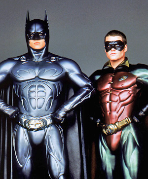Batman and Robin!
